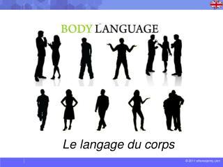 Le  langage  du corps
