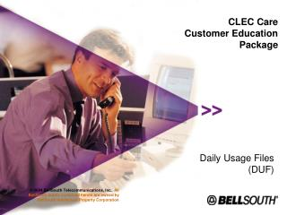 CLEC Care Customer Education Package