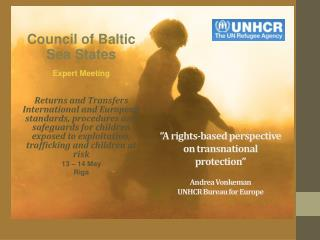Council of Baltic Sea States Expert  Meeting