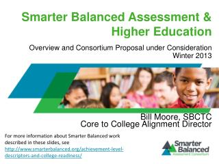 Smarter Balanced Assessment & Higher Education