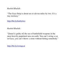 Rashid Khalidi:
