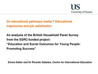 Do educational pathways matter? Educational trajectories and job satisfaction
