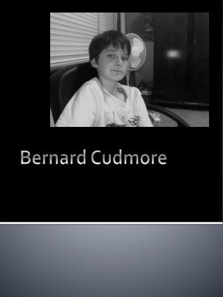 Bernard Cudmore