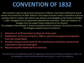 Convention of 1832