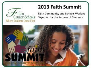 2013 Faith Summit