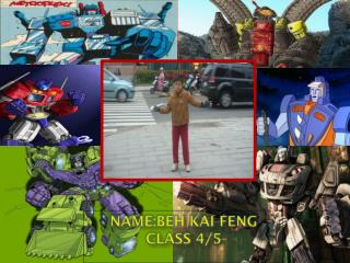 NAME:BEH Kai feng class 4/5