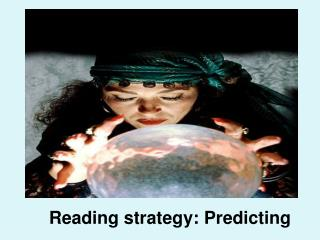 Reading strategy: Predicting
