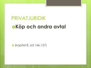 PRIVATJURIDIK