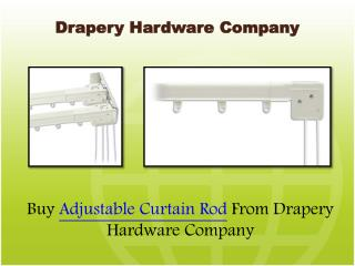 Decorate Your room with Adjustable curtain Rods
