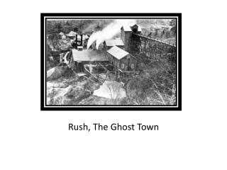 Rush, The Ghost Town