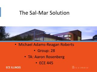 The Sal-Mar Solution