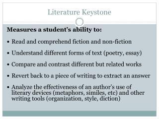 Literature Keystone