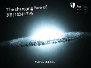The changing face of  RE J1034+396