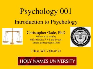 General Psych Specifics