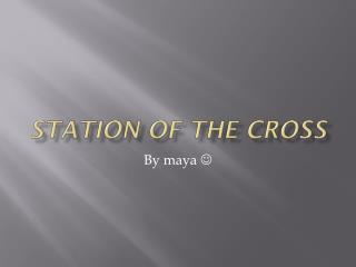 Station of the cross