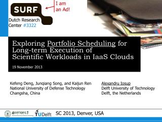 Exploring  Portfolio Scheduling  for Long-term Execution of Scientific Workloads in  IaaS  Clouds