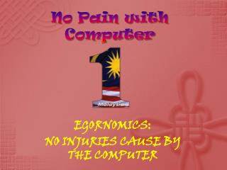 No Pain with Computer