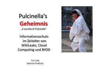 Informationsschutz  im Zeitalter  von  WikiLeaks ,  Cloud  Computing und BYOD