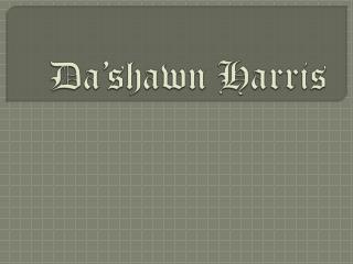 Da'shawn Harris