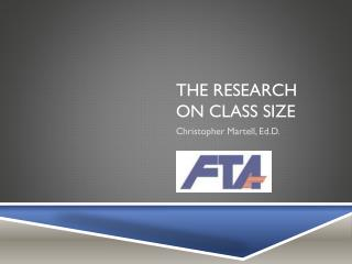 The Research on Class Size