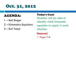Oct.  31,  2012