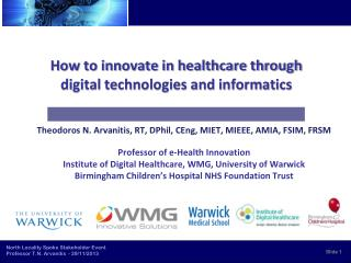 How to innovate in healthcare through digital technologies and informatics