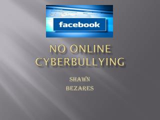 No Online Cyberbullying