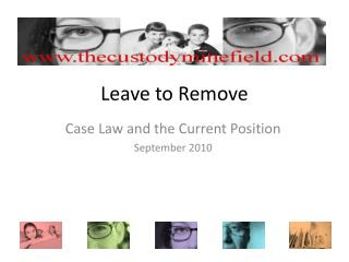 Leave to Remove