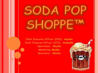 SODA POP  SHOPPE™