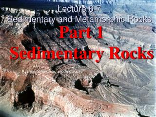 Part 1 Sedimentary Rocks