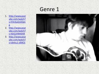 Genre 1