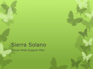 Sierra Solano