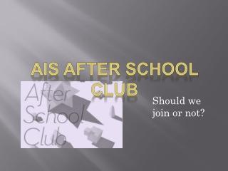 ais club