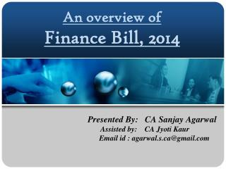 An overview of Finance Bill, 2014