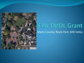 EPA TMDL Grant