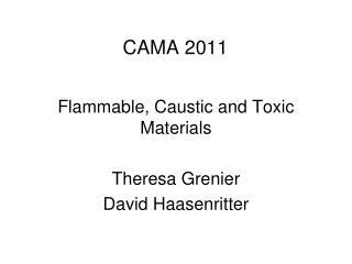 CAMA 2011