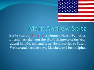 Mark Andrew Spitz