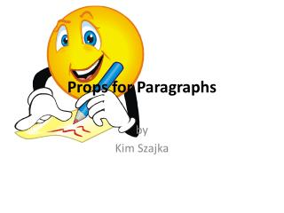 Props for Paragraphs