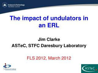 The impact of undulators in an ERL