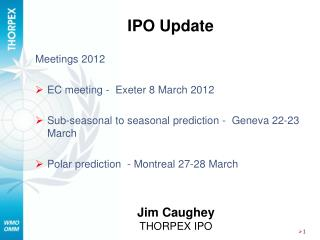 IPO Update