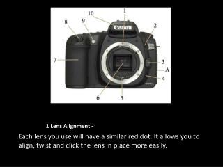 1  Lens Alignment -