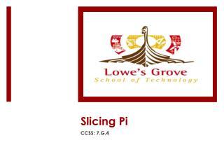 Slicing Pi
