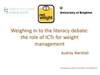 Weighing in to the literacy debate: the role of ICTs for weight management