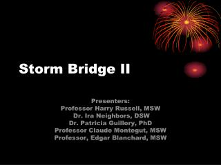 Storm Bridge II