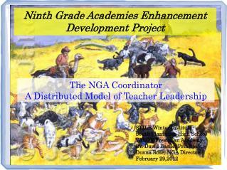 Ninth Grade Academies Enhancement Development Project