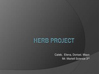 Herb Project