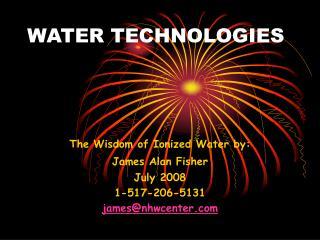 WATER TECHNOLOGIES