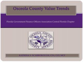 Osceola County Value Trends