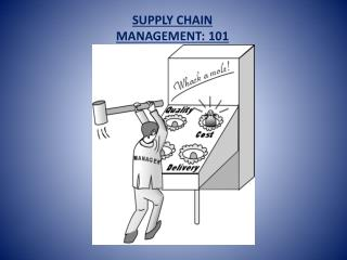 SUPPLY CHAIN MANAGEMENT: 101
