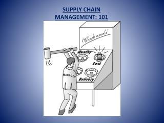 SUPPLY CHAIN MANAGEMENT: 101
